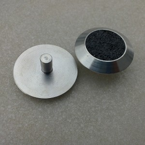 TGSI-161 Stainless steel tactile studs / warning studs / tactile indicators with carborundum insert