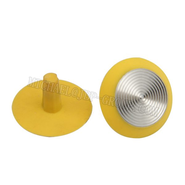 TGSI-P004 Plastic tactile studs / tactile indicators with stainless steel inserts