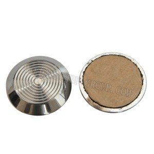 TGSI-007 Stainless steel tactile studs / warning studs with self-adhesive tape