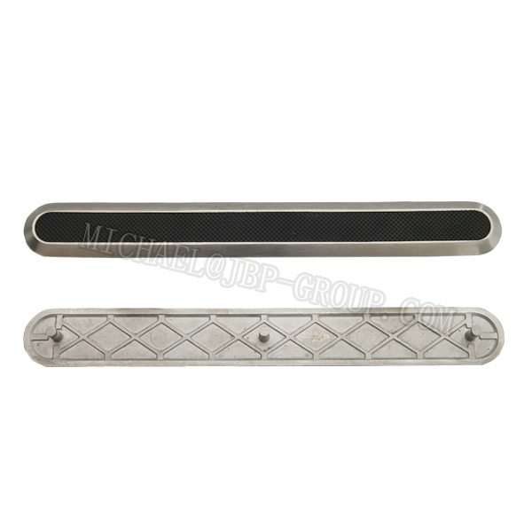 TGSI-018 Stainless steel tactile strip/ directional strips/ tactile strips with black PP insert